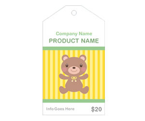 This is a preview of the Teddy Bear Sales Tag