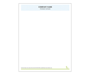 This is a preview of the Organic Farm Letterhead