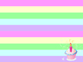 Birthday Cupcake Background