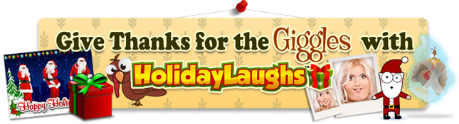 For Festive Fun This Time of Year, HolidayLaughs is Here!