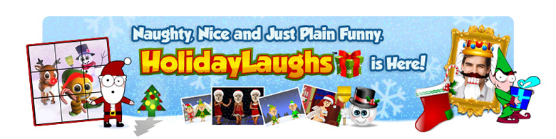 Naughty, Nice and Just Plain Funny. HolidayLaughs is Here!