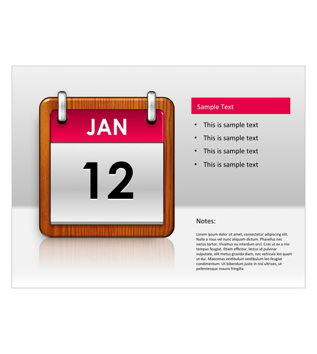 This is a preview of the Daily Calendar Snapshot