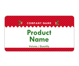This is a preview of the Naughty Or Nice Adhesive Labels 5163