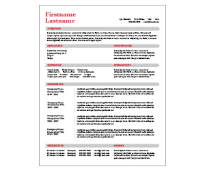This is a preview of the Gray Arrow Resume